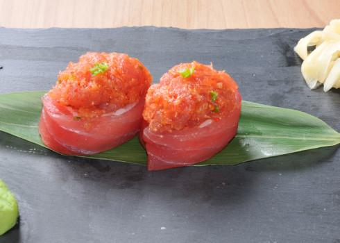 Gunkan Maguro Tartare - Riso, tonno, tartare di tonno