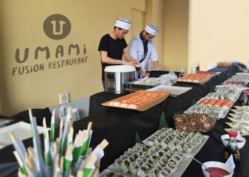 Servizio catering – sushi, sashimi, fingerfood per eventi e feste