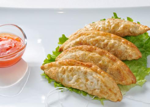 Spicy Mandu - Ravioli coreani piccanti con verdure e tofu